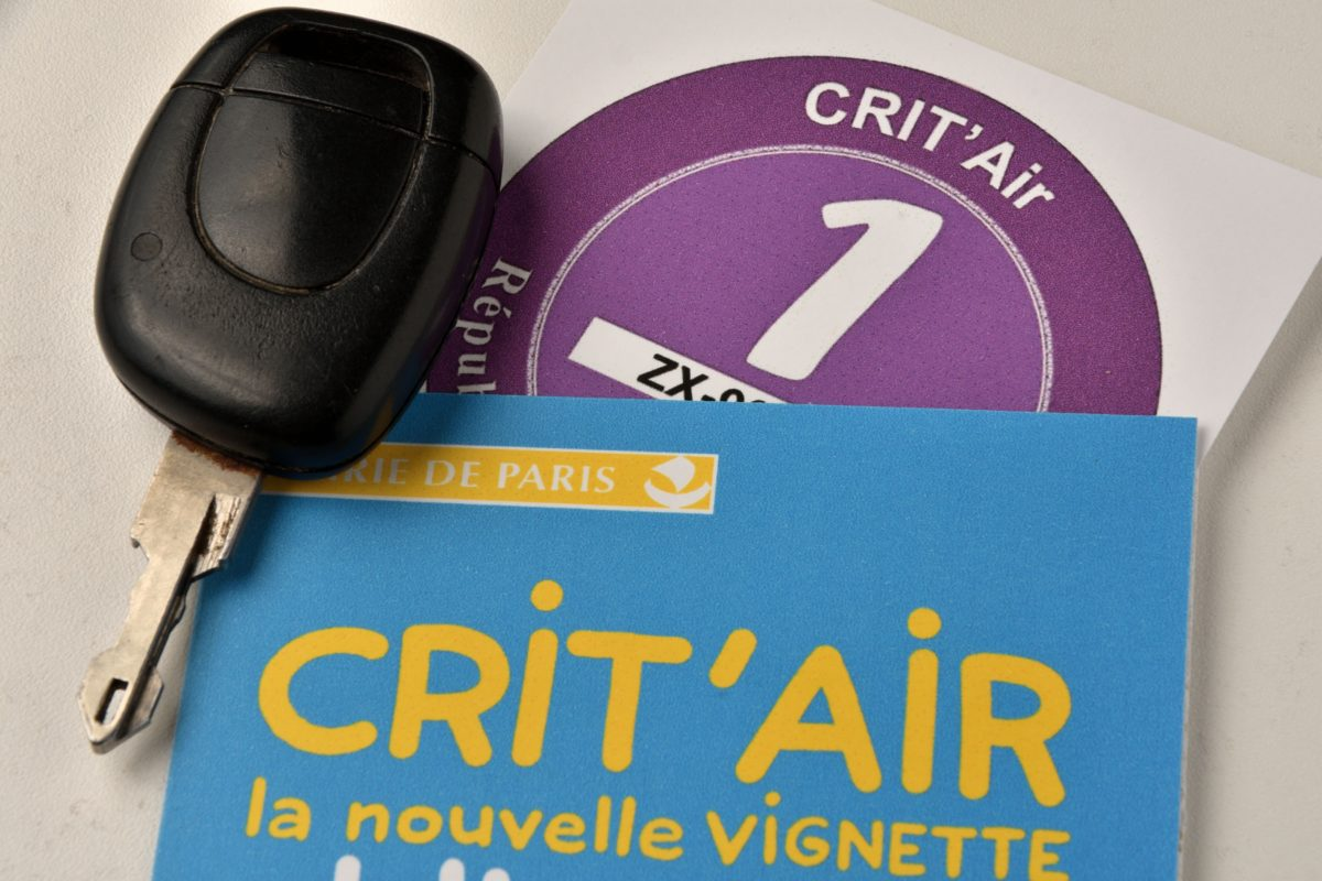 Strasbourg and its eurometropolis adopt the Crit'air Sticker from 1st of november 2017